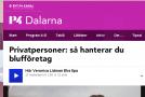 Privatpersoner: så hanterar du blufföretag – P4 Dalarna | Sveriges Radio